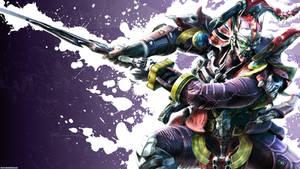 Tekken 6 wall Yoshimitsu 1