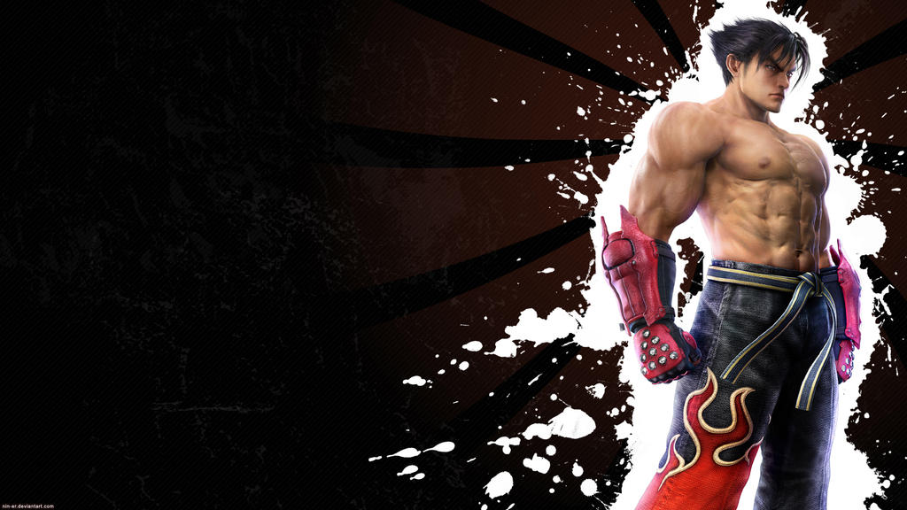 Tekken 6.0 wallpaper Jin -blck by nin-er