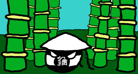YuMao Guoball in a Bamboo Forest by XarTario