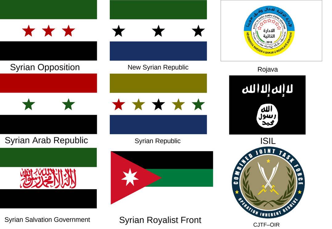 Alternative Syrian Civil War