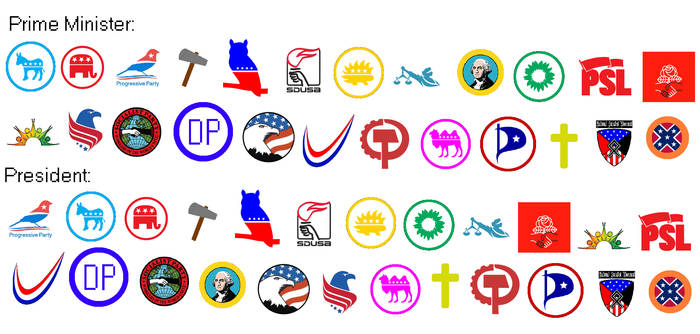 Political Parties of the US Jul 2021 (Parl. Amer.)