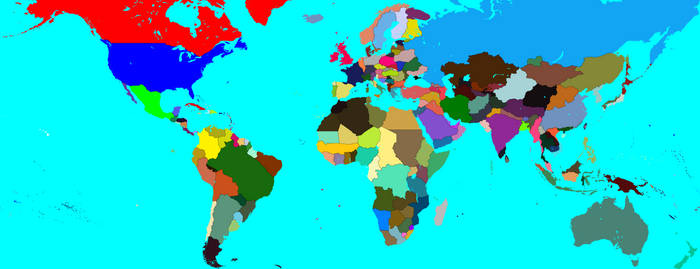 Parliamentary America 2021 Map