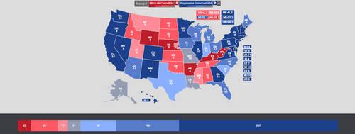 Alt. Scenario 4: Mitch McConnell vs. Pro. Democrat by XarTario