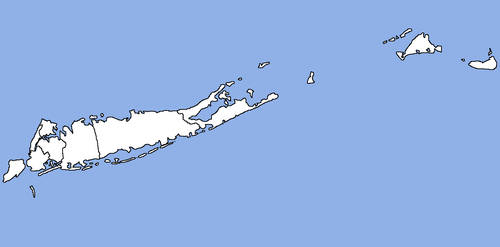 Map of the State of Long Island (Parli. Ameri.)