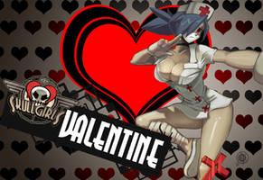 SkullGirls_Valentine by novekai