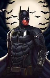 Batman by novekai