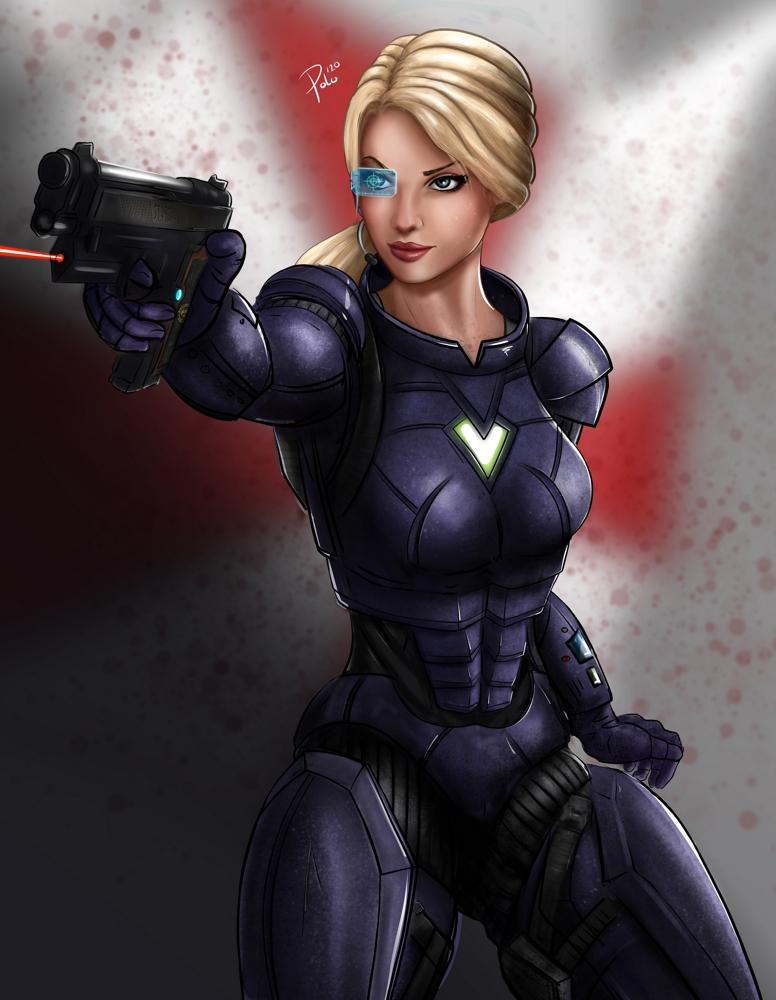 Resident Evil - Jill Valentine (heavy armor)