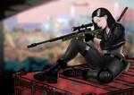 Zoey (Cyberpunk RED OC Character)
