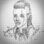 Ruhka, half-orc
