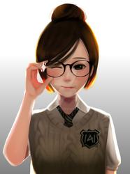 Commission- Glasses