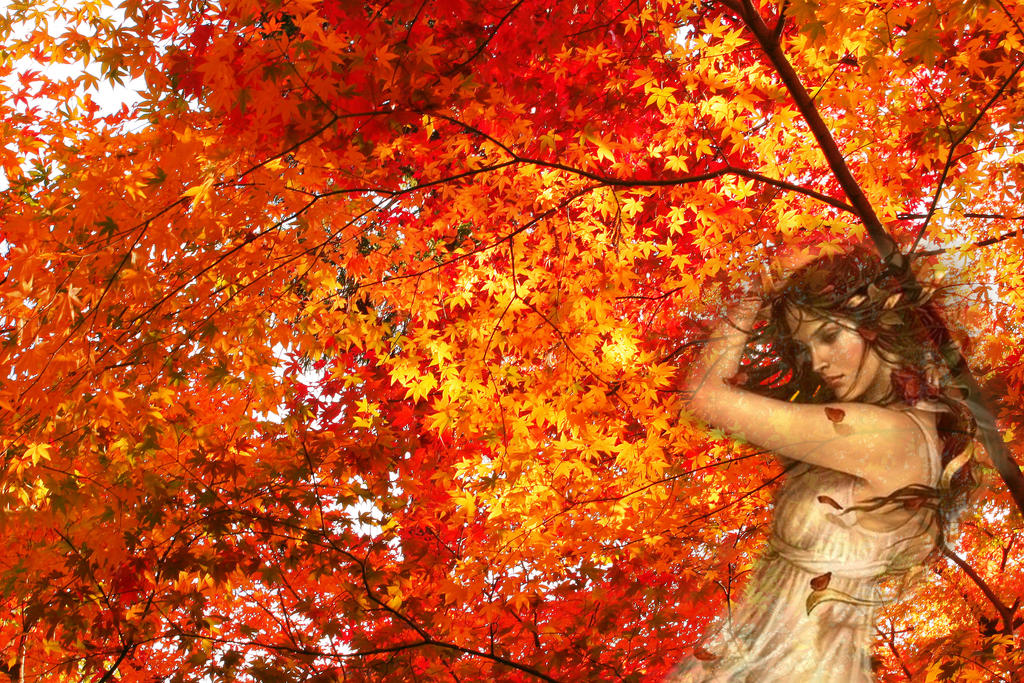 Image result for autumn goddess