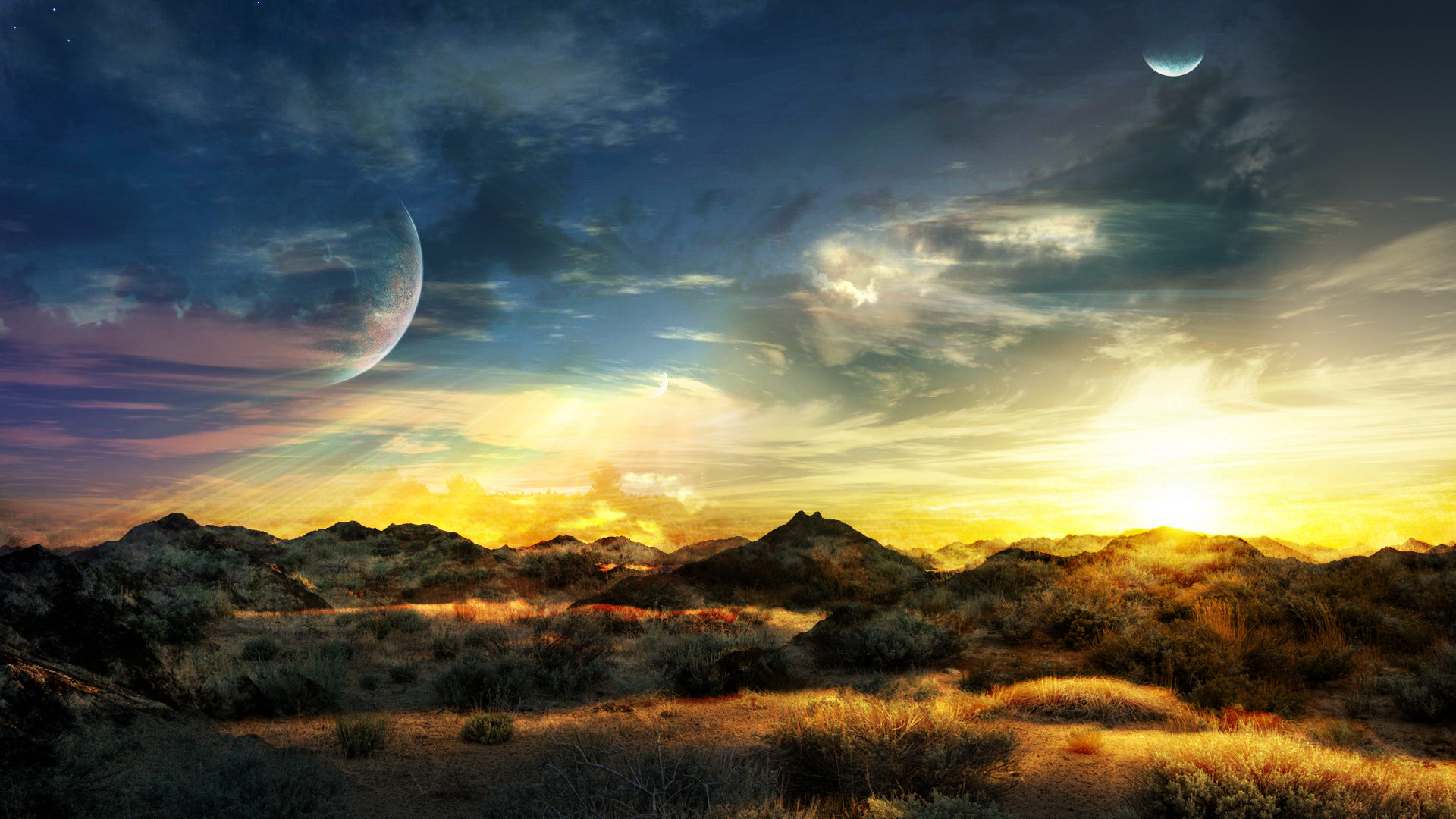 Awesome summer landscape by speetix on deviantart for Landscape pictures