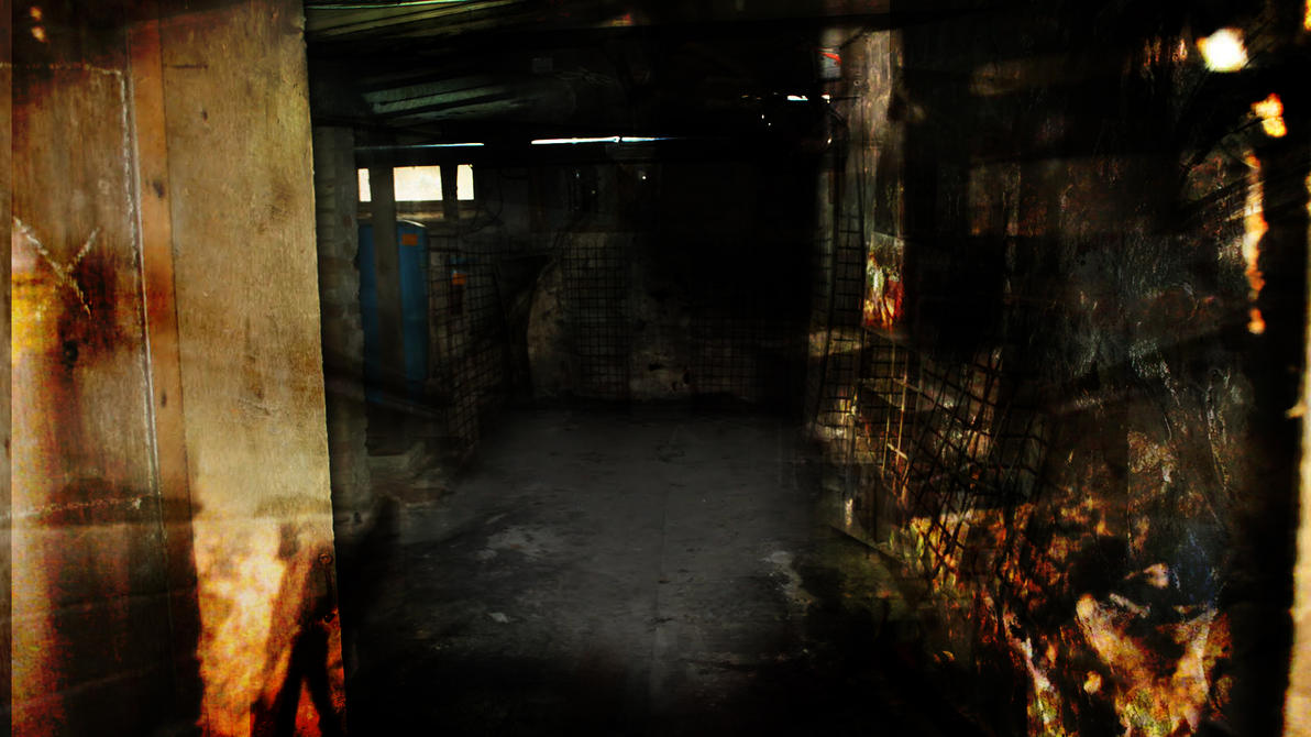 Scary Basement By Speetix On DeviantArt - Dark creepy basement