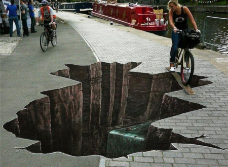 Eli Oldham | Amazing-3d Street Art Optical by elioldham