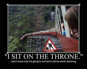 I Sit On the Throne