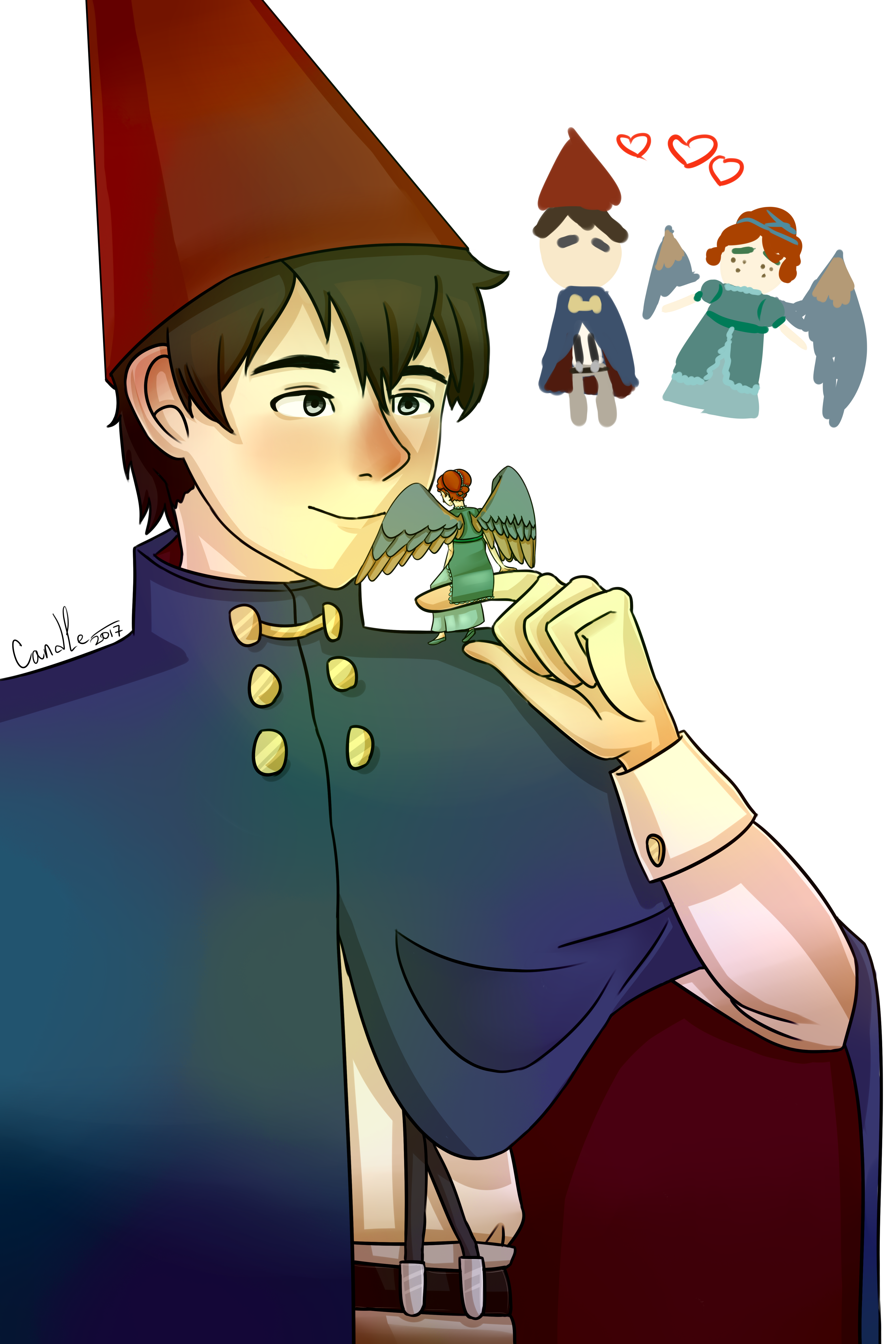 Over The Garden Wall Wirt X Beatrice By C And Le On Deviantart