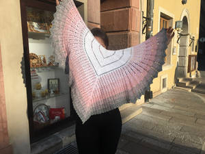 Ultimate Sacrifice shawl