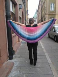 Dandelion shawl