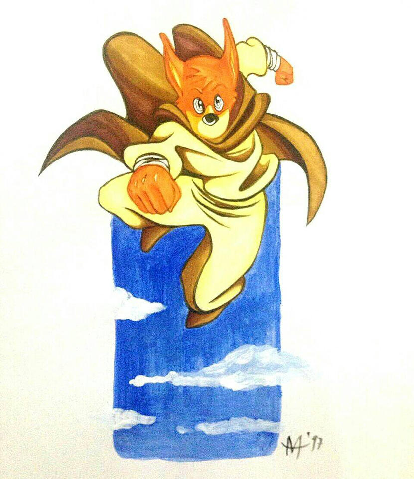 Katsune, the adventure fox by Amaltea1983