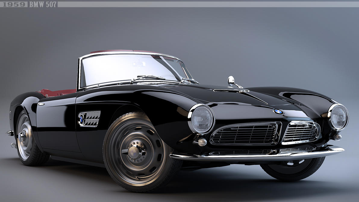 1959 bmw 507 by nancorocks