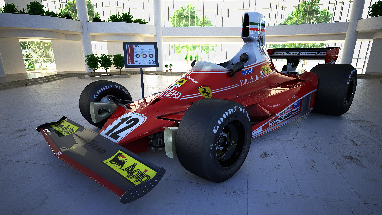 Niki Lauda Crash Car