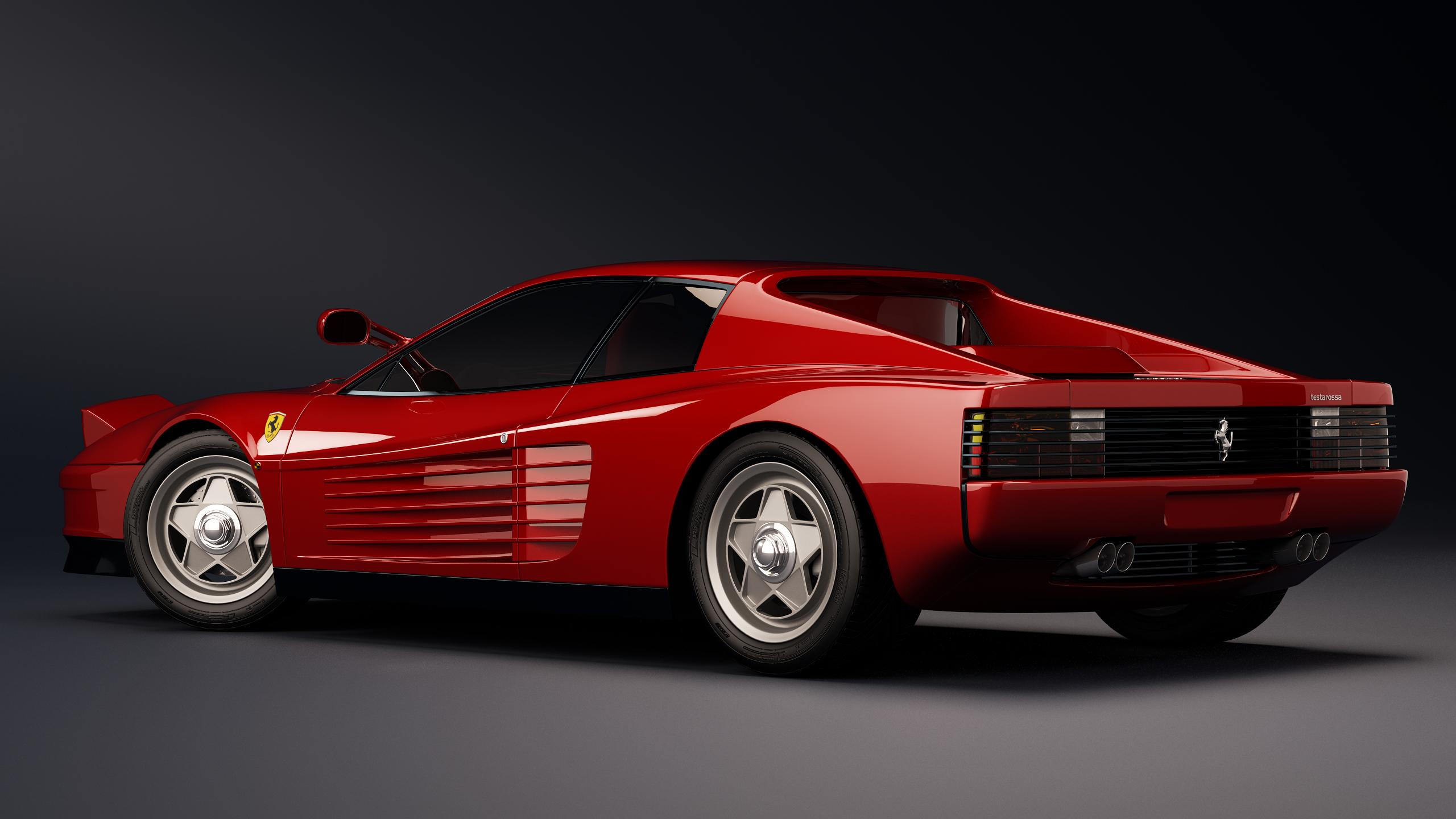 1986 Ferrari Testarossa F110 By Nancorocks On Deviantart