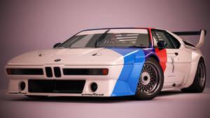 BMW M1 Procar by nancorocks