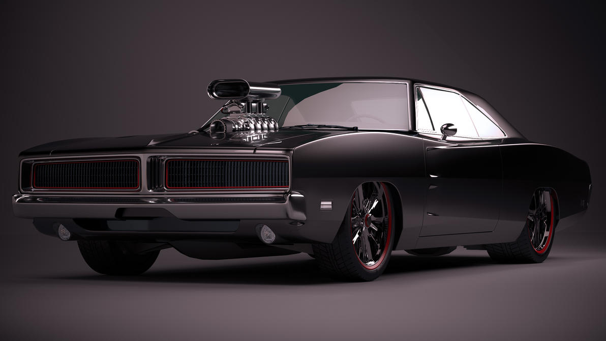 1969 Dodge Charger by nancorocks