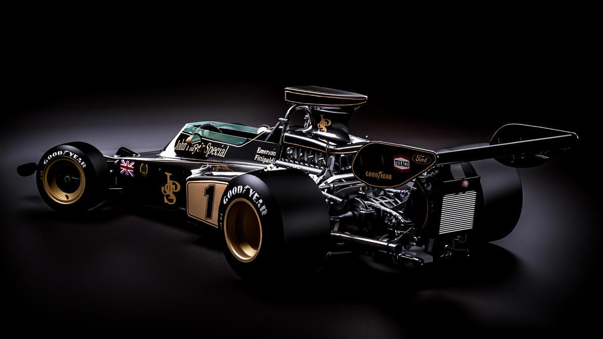Lotus 72D Cosworth Emerson Fittipaldi By Nancorocks On