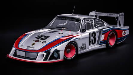 1978 Porsche 935 'Moby DIck' by nancorocks