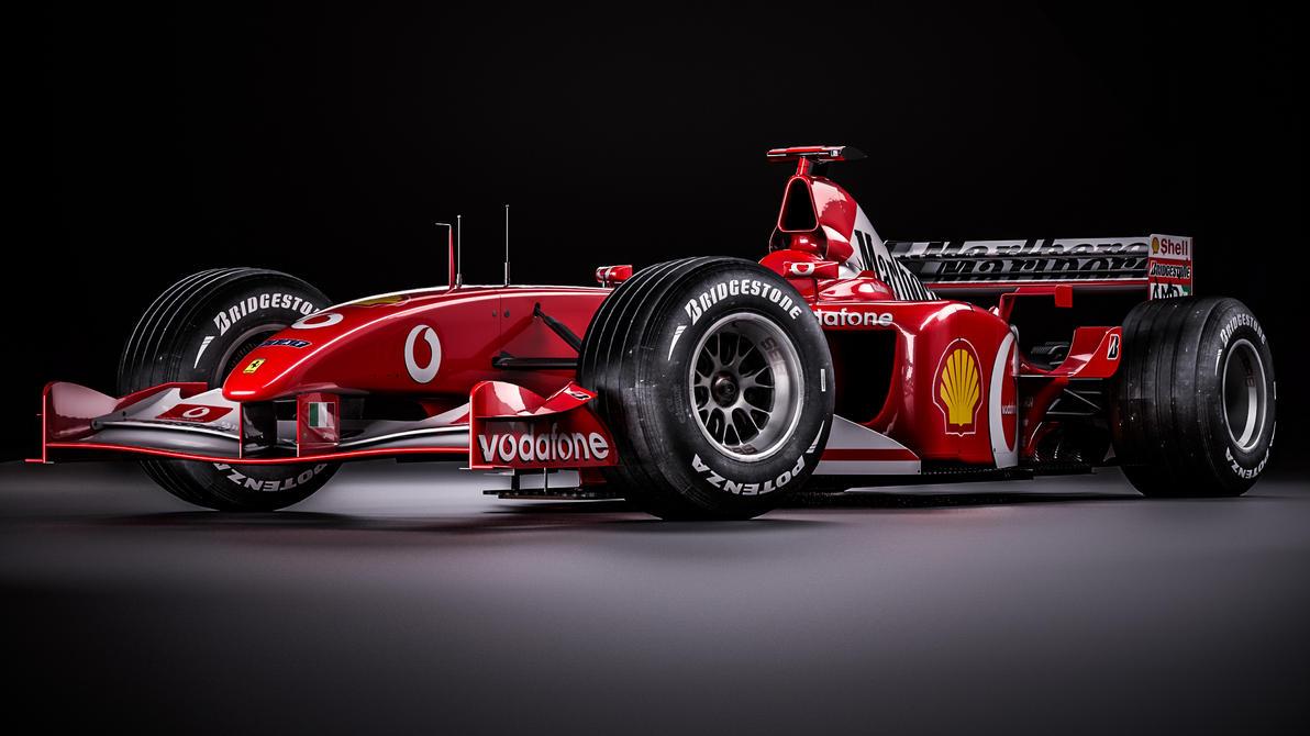 Ferrari F2002 - Michael Schumacher by nancorocks