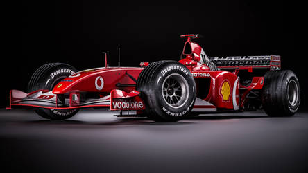 Ferrari F2002 - Michael Schumacher