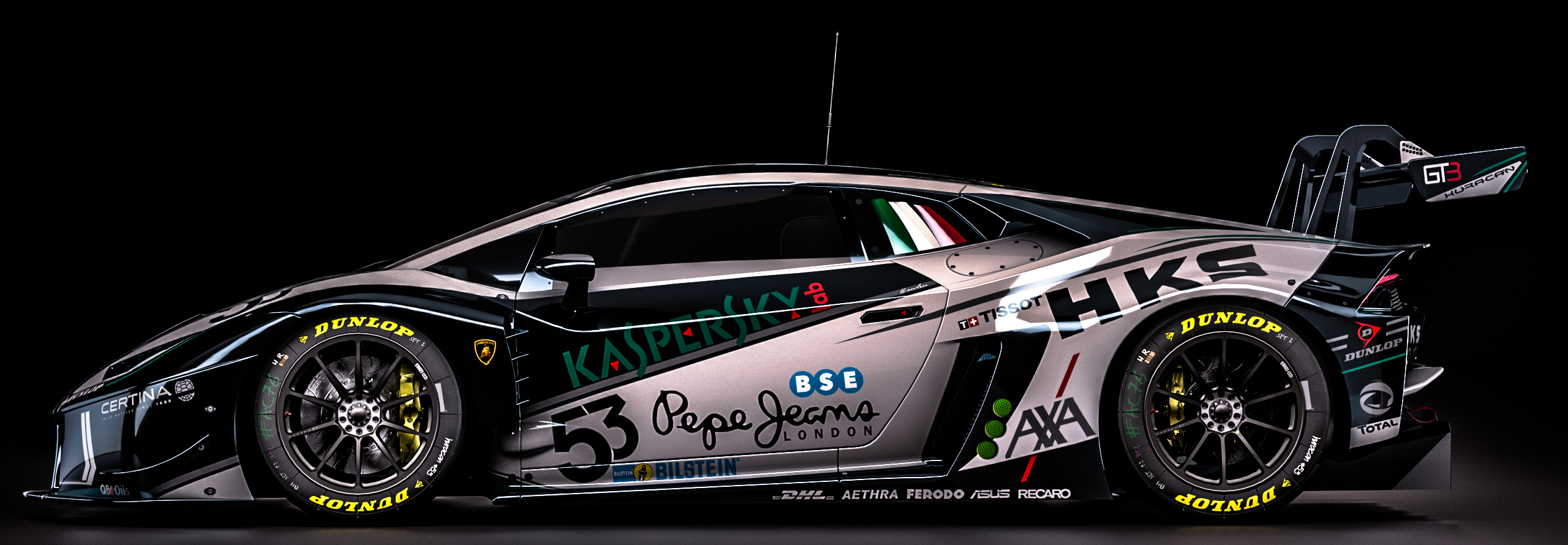 lamborghini huracan gt3 fantasy kaspersky livery by nancorocks on deviantart. Black Bedroom Furniture Sets. Home Design Ideas