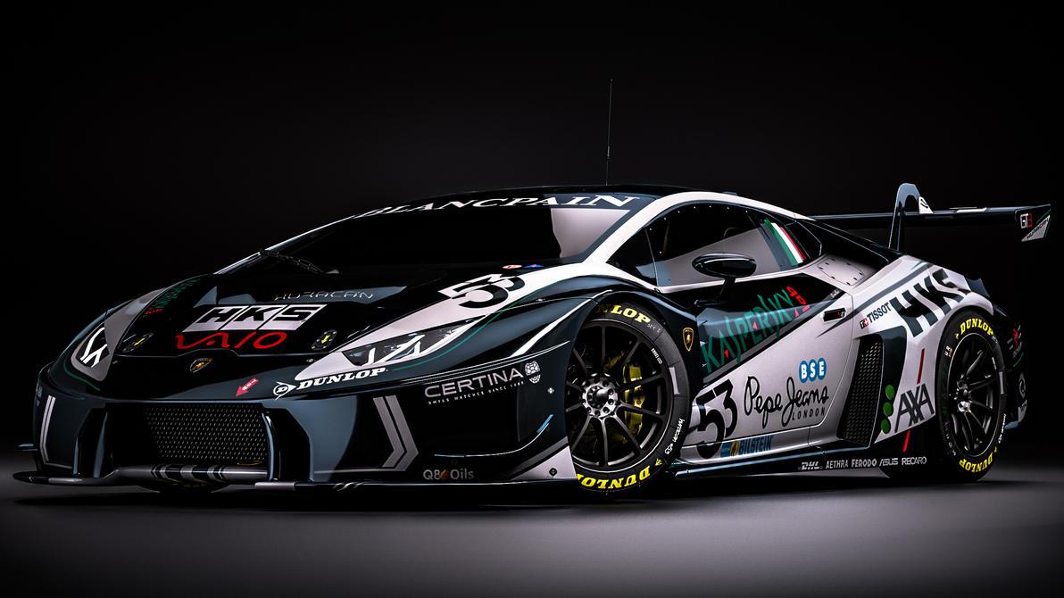 Lamborghini Huracan GT3 Fantasy Kaspersky Livery By Nancorocks ...