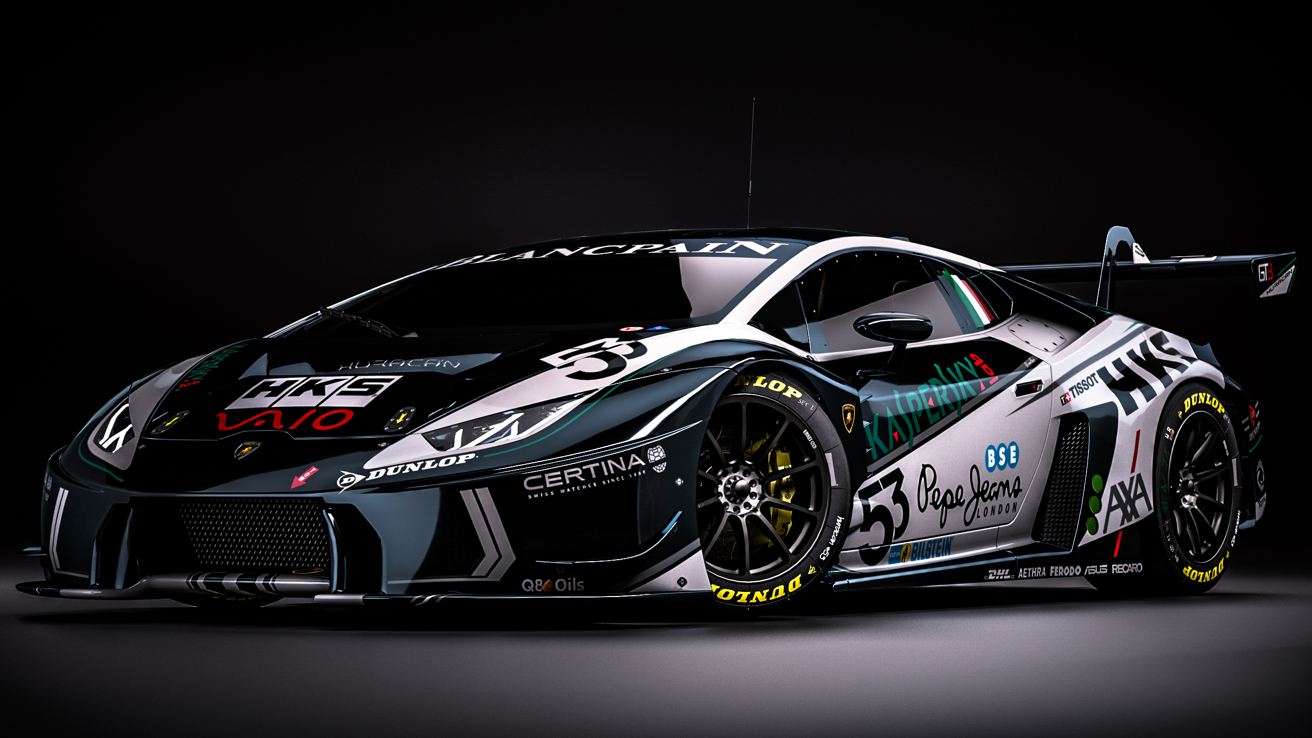 Lamborghini Huracan Gt3 Fantasy Kaspersky Livery By