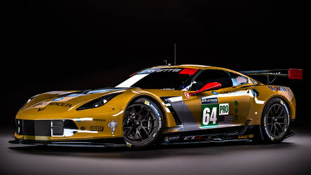 Chevrolet Corvette C7.R - Winner GTE Pro 2015 by nancorocks