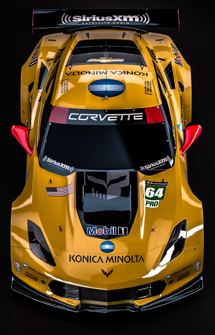 Chevrolet Corvette C7 R Winner Gte Pro 2015 By