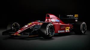 Ferrari 643 - Jean Alesi