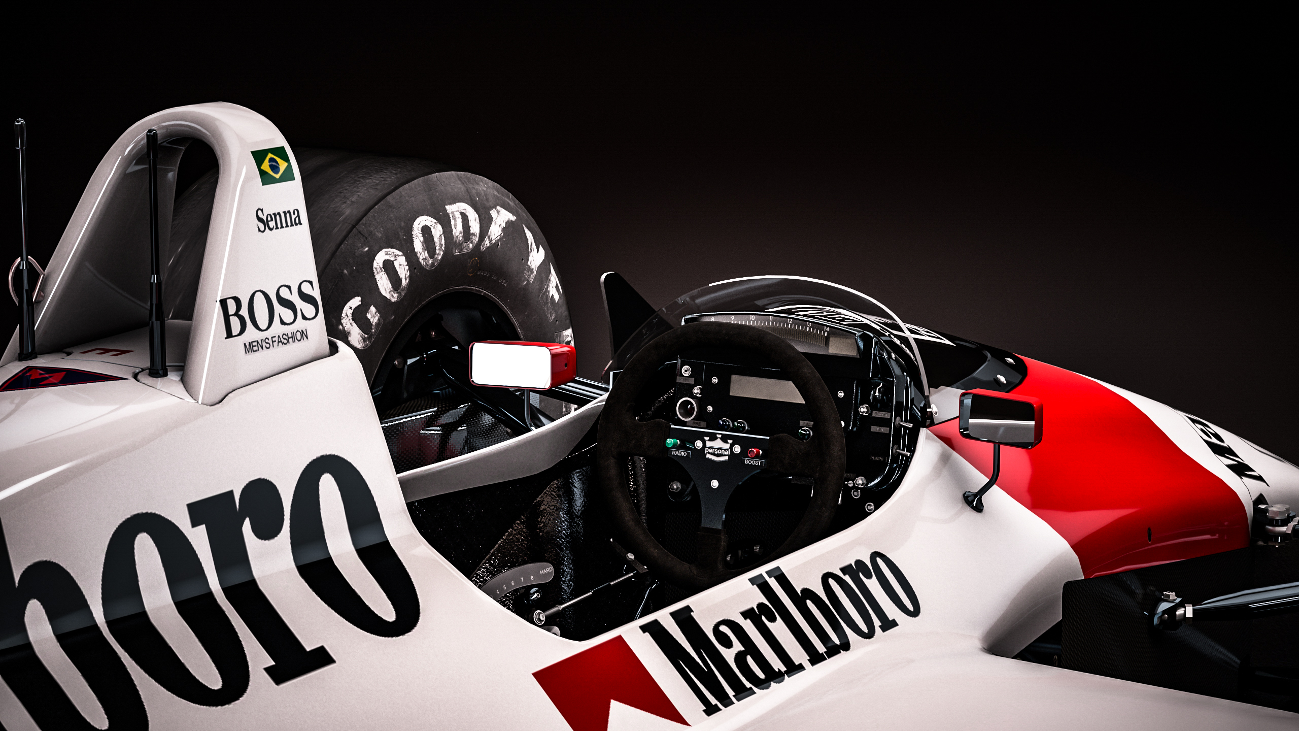 Mclaren Honda Mp4 4 Ayrton Senna By Nancorocks On Deviantart