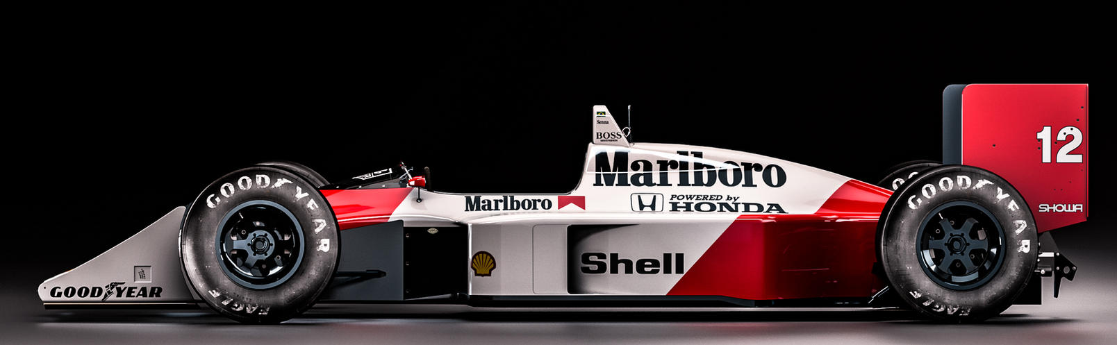 Mclaren Honda MP4/4 - Ayrton Senna by nancorocks on DeviantArt