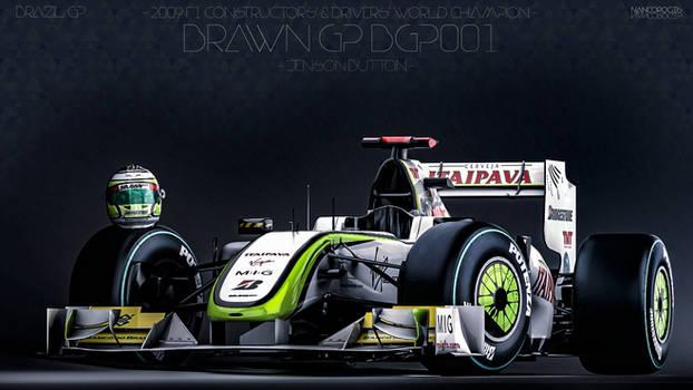 Brawn GP BGP001 - Jenson Button - Brazil 2009