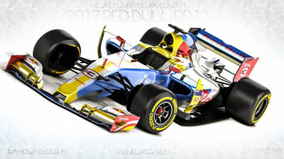 2017 Red Bull Rb13 Daniel Ricciardo By Nancorocks On