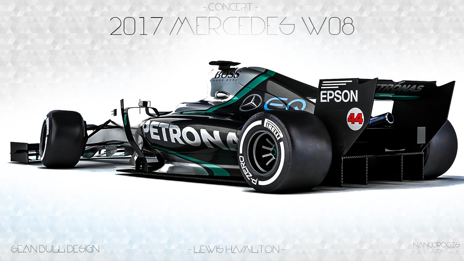2017 Mercedes W08