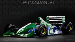 1991 Jordan 191 - Michael Schumacher -