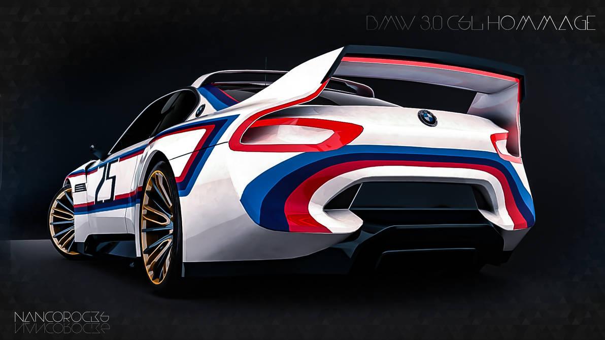 BMW 3 0 CSL Hommage R by nancorocks on DeviantArt
