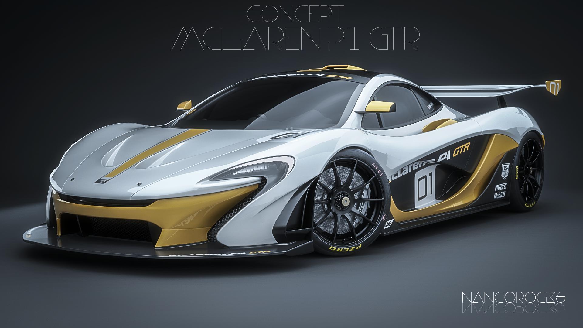 McLaren P1 GTR  Concept  by nancorocks on DeviantArt