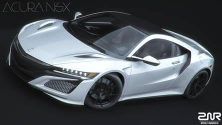Acura NSX by nancorocks