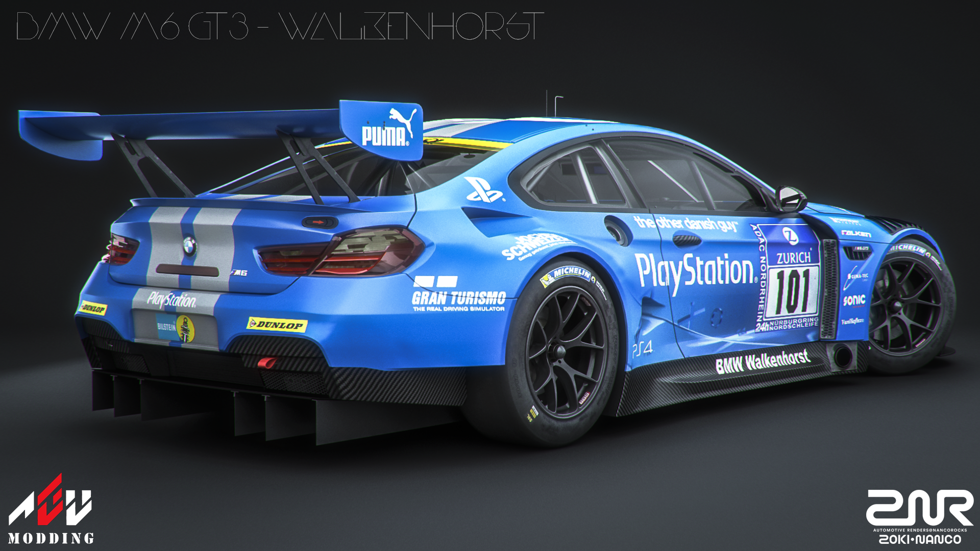 Bmw M6 Gt3 Walkenhorst By Nancorocks On Deviantart
