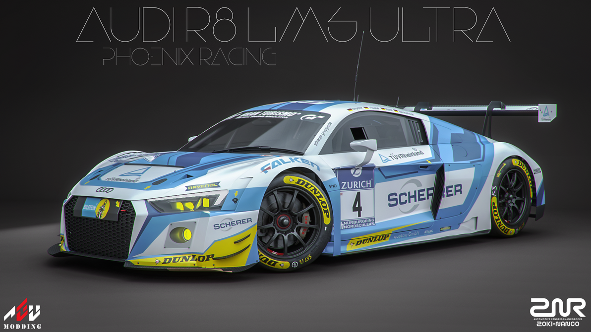 Audi R LMS Ultra Phoenix Racing By Nancorocks On DeviantArt - Audi phoenix