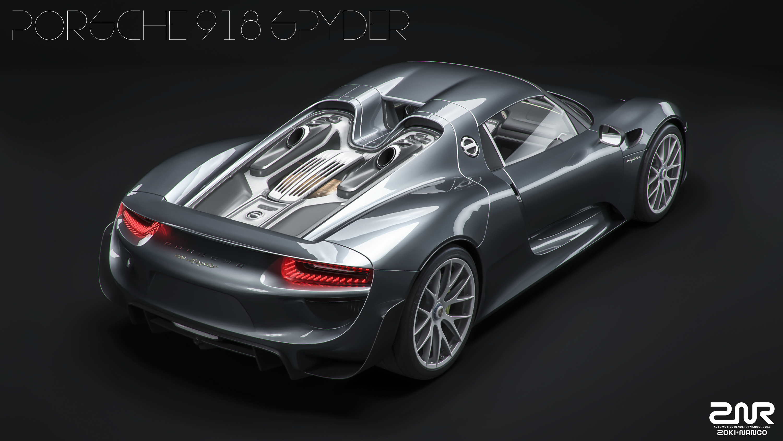 porsche_918_spyder_by_nancorocks-davizqi Amazing Porsche 918 Spyder sold Out Cars Trend